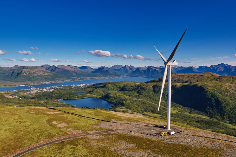 Wind farms are sustainable investing opportunities found in europe right now.