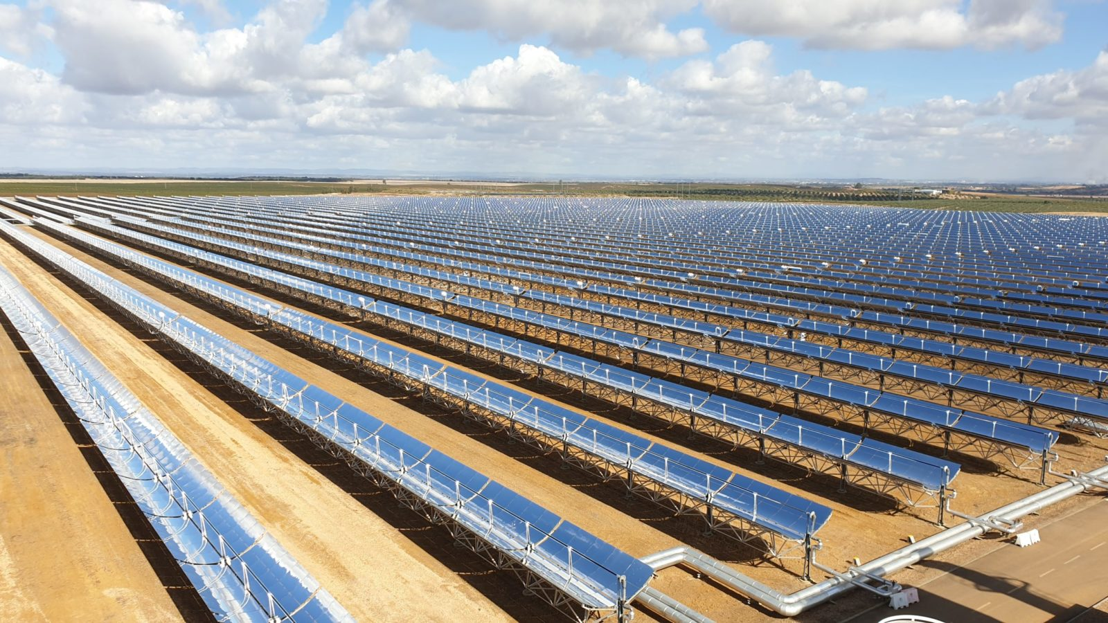 Picture of a solar power plant that we used sector-specific focus to identify and invest in recently.