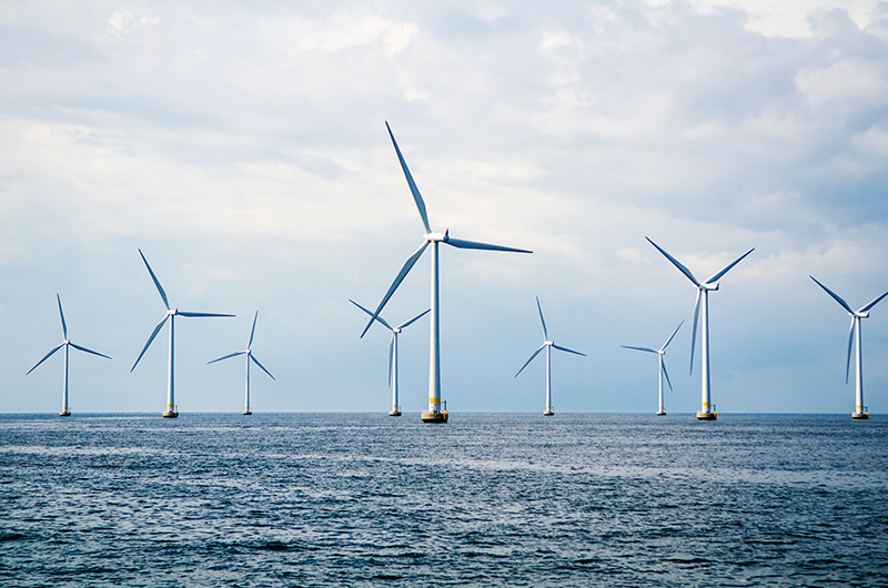 An offshore wind farm is one offering available in our diversified separate accounts.