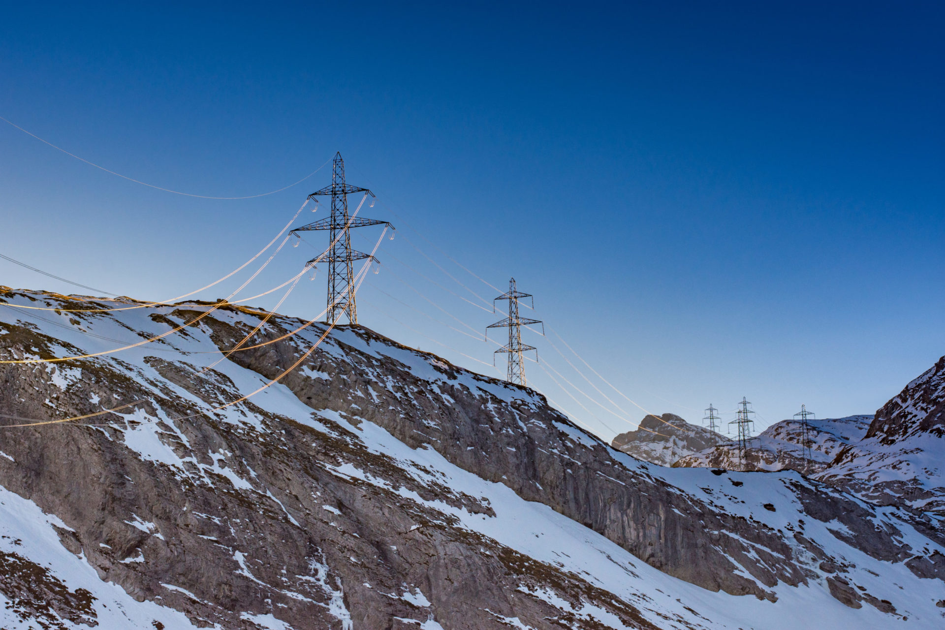 Swissgrid's high voltage system was upgraded with the investment support of EIP.