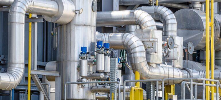 Transitgas-Pipelines bringen Kraftstoff aus Nordeuropa nach Italien und in die Schweiz.